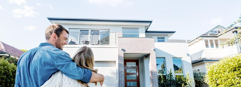 Building insurance from AXA protects your house.